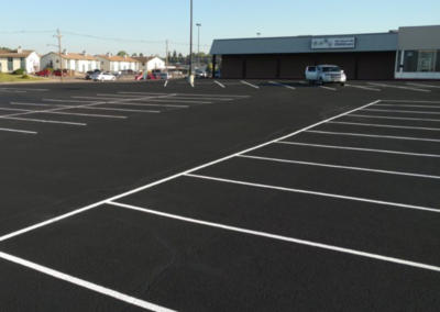 Element Church New Pavement by Black Pearl Asphalt