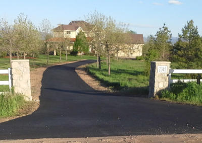 Residential New Paved Driveway by Black Pearl Asphalt