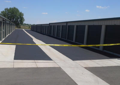 Storage Center New Pavement by Black Pearl Asphalt